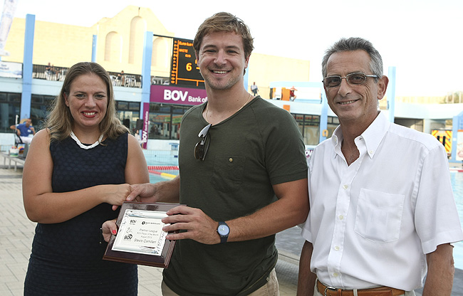 BOV Water Polo August 2013 Player of the Month Stevie Camilleri