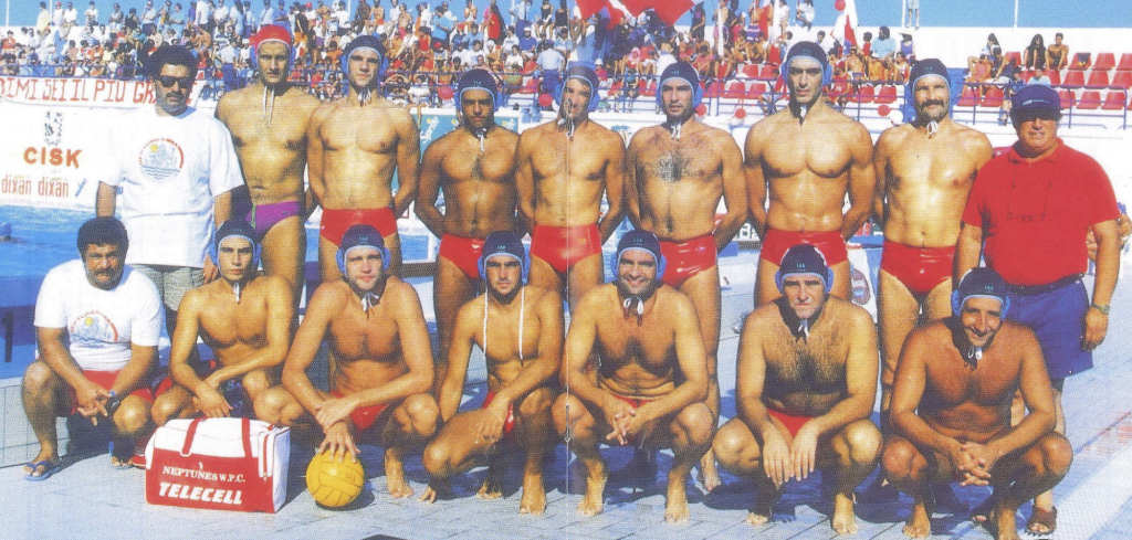 The Neptunes 1993 team featuring brothers Adrian and Leonard Cachia